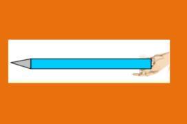 Μια σύνθετη κίνηση ενός μολυβιού.