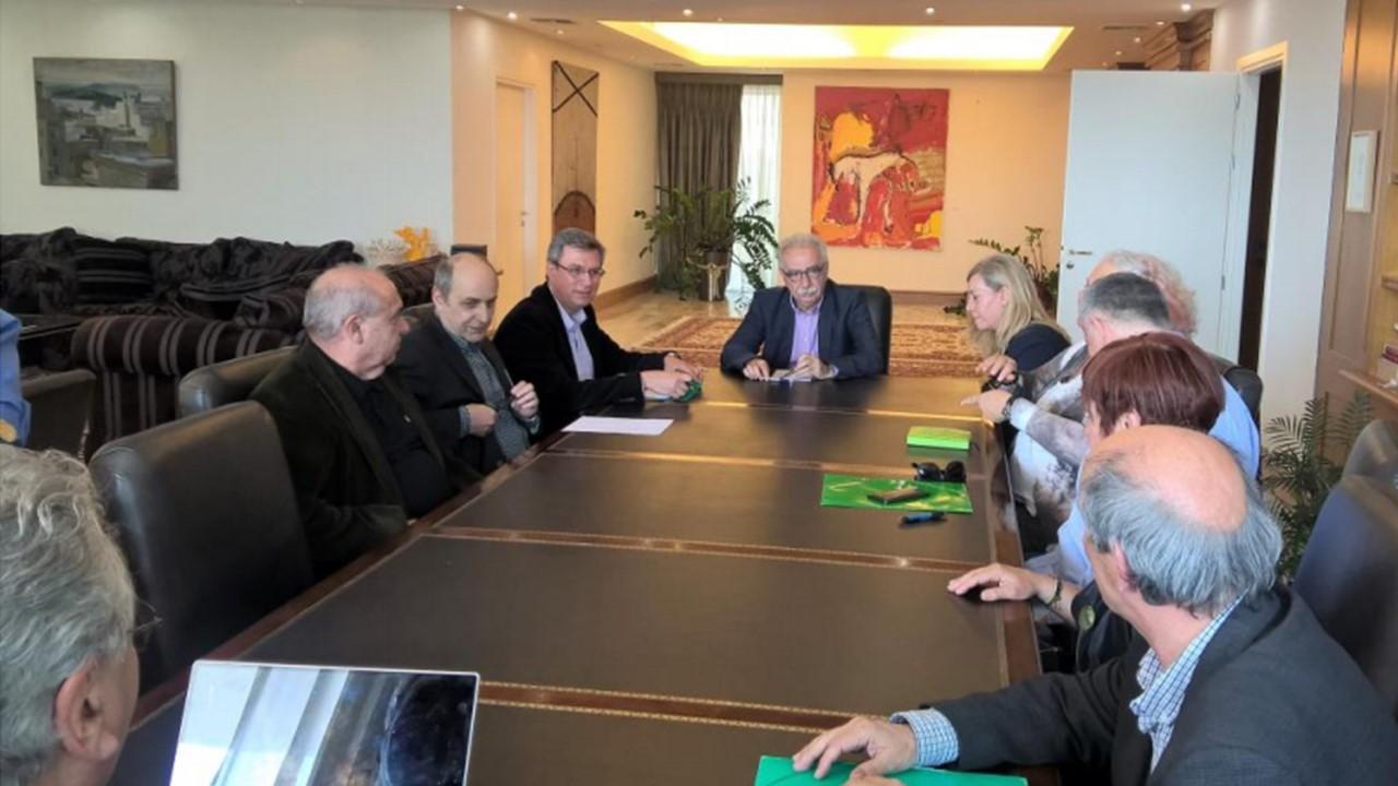 Συνάντηση Επιστημονικών Ενώσεων Φ.Ε με τον Υπουργό Παιδείας