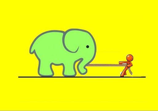 Ο ελέφαντας και το παιδί