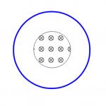 Ηλεκτρεγερτική δύναμη από επαγωγή σε αγώγιμο κυκλικό πλαίσιο