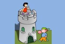 Ο πύργος και η σκάλα.