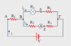 Διαγώνισμα στο ηλεκτρικό ρεύμα 2021 (Β ομάδα)