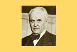 Σαν σήμερα… 1868, γεννήθηκε ο φυσικός Robert Millikan.