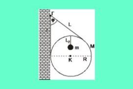 126. Κυκλική στεφάνη και μάζα m