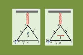 Τρίγωνο σε ισορροπία και περιστροφή