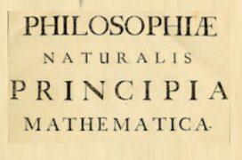 """Σαν σήμερα… 1687, εκδίδεται το  """"Principia"""" του Νεύτων ."""