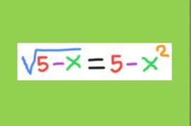 Μία Αλγεβρική Εξίσωση.