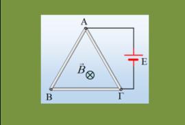 Ένας τριγωνικός βρόχος σε ΟΜΠ